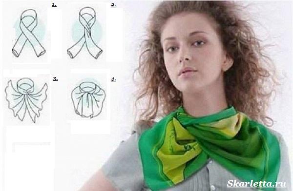 Как-завязать-платок-на-шее-40