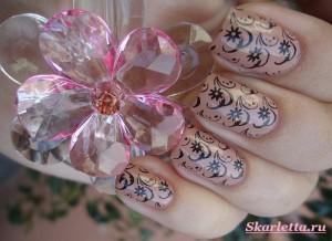 Стемпинг-красивый-маникюр-для-ногтей-1
