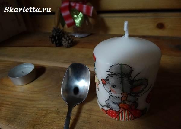 Декупаж-свечи-новогодний-дизайн-6