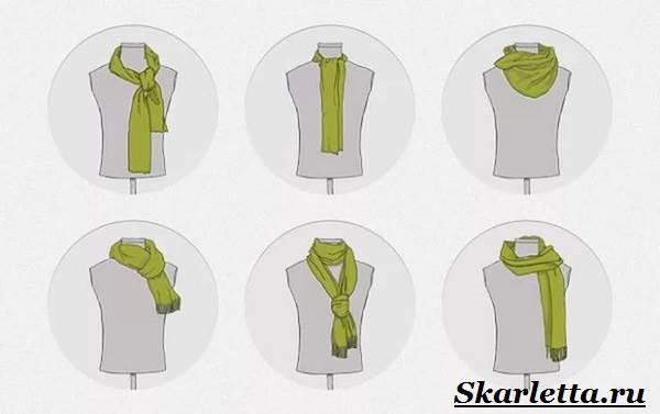Как-завязать-шарф-на-шее-Способы-завязать-шарф-схемы-и-фото-26