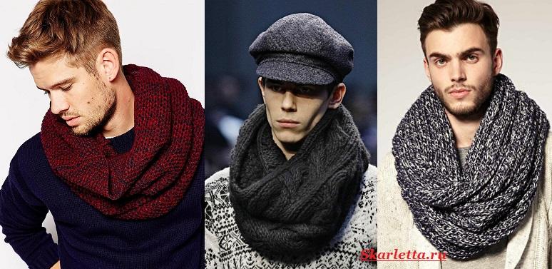 Как-завязать-шарф-на-шее-Способы-завязать-шарф-схемы-и-фото-47