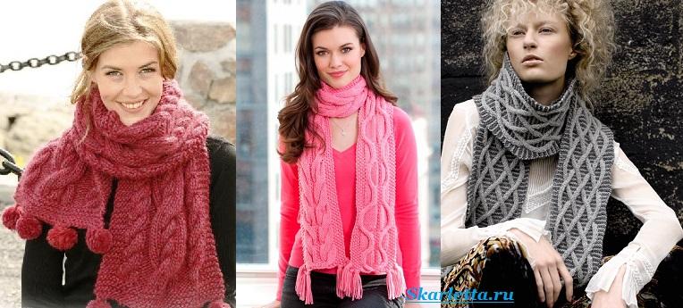 Как-завязать-шарф-на-шее-Способы-завязать-шарф-схемы-и-фото-49
