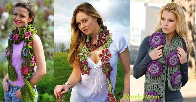 Как-завязать-шарф-на-шее-Способы-завязать-шарф-схемы-и-фото-55