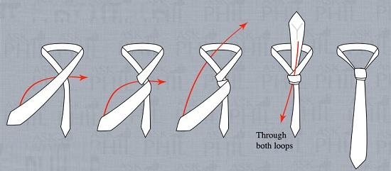 Как-завязать-галстук-Фото-схемы-и-способы-завязывания-галстука-13