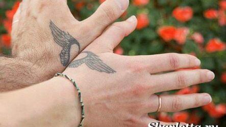 Парные тату и их значение. Эскизы и фото парных тату